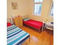 Twin Rooms AVAILABLE NOW in Maida Vale ** Perfect for 2 FRIENDS **