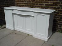 FREE DELIVERY Vintage White Sideboard Retro Furniture