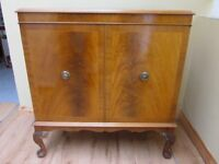 Reproduction Light Mahogany Television Cabinet