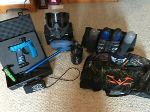 Paintball Set - Invert Mini, Dye Rotor, Tank, Mask and more