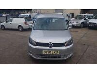 2010 / 60 PLATE Volkswagen Caddy 1.6 TDI C20 Panel Van 4drNEW SHAPE NO VAT NO VAT NO VAT