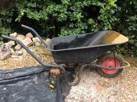 Galvanised Wheelbarrow.