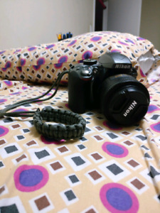 Nikon D3300 with 4 lenses! (package)