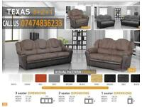 leatherTexxas sofa z