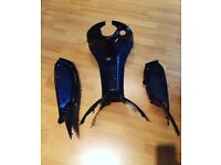 Gilera runner gloss black inners perfect for renthal conversion mint