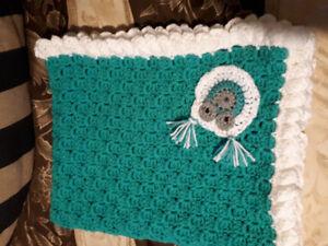 Handmade baby crochet blankets