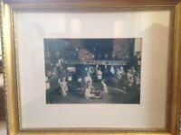 Old Black and White professionally framed photograph