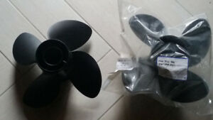 Boat propellers 2 avail - 14.5×17 - 4 blade