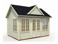Claudia 11.5 Log Cabin with 10% DISCOUNT