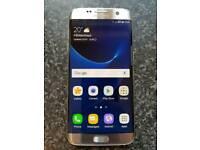 Samsung S7 Edge Silver Titanium O2