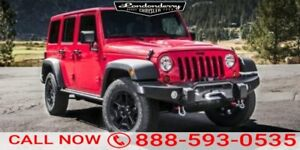 2015 Jeep Wrangler Unlimited 4WD UNLIMTED SAHARA Accident Free,