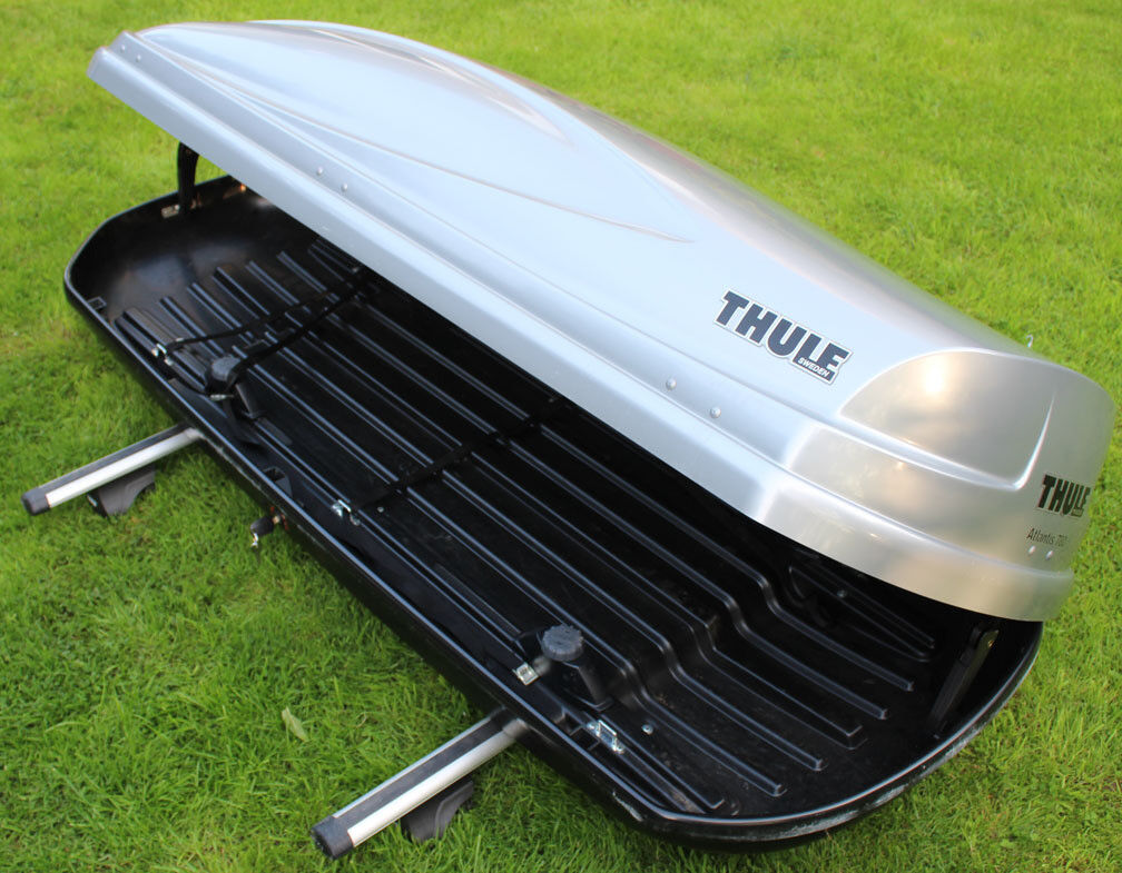 thule atlantis 780 roof box in harrogate north. Black Bedroom Furniture Sets. Home Design Ideas