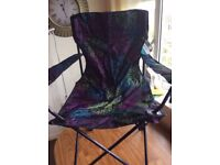 2 x Mountain Warehouse Camping Folding Chairs Floral NEW