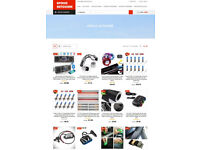 Fully Customised Drop Shipping Web Site