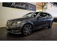 2013 63 MERCEDES-BENZ C CLASS 2.1 C220 CDI BLUEEFFICIENCY AMG SPORT PLUS 5D AUTO