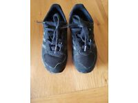 Black adidas trainers size 11