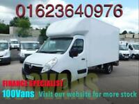 VAUXHALL MOVANO 2.3CDTI 125ps L3H1 F3500 LUTON & TAIL LIFT FINANCE ARRANGED