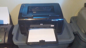 HP LaserJet Printer Model P1102W, (INCLUDES NEW TONER CARTRIDGE)