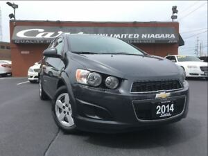 2014 Chevrolet Sonic LS | NO ACCIDENTS | 1 OWNER | BLUETOOTH ...