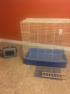 Cage and small animal carrier