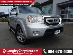 2011 Honda Pilot Touring * ACCIDENT FREE * 2 OWNERS *  LOCAL...