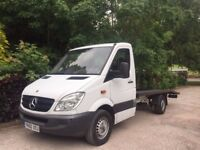 2010 MERCEDES SPRINTER RECOVERY TRUCK MWB LIGHTWEIGHT TOP OF THE RANGE REMAPPED FAST TRUCK