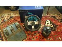 Logitech G27 Force Feedback Steering Wheel