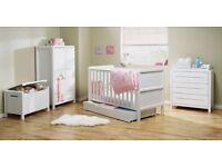 Nursery Furniture (Drawers, Wardrobe & Toy Box)