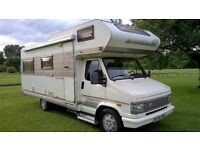 CITREON HYMER CAMP 65 MOTORHOME 6 BIRTH CAMPERVAN LHD 2.5TURBO DIESEL READY TO GO!