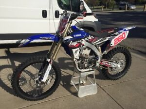 2016 YZ450F - only 16 hrs!