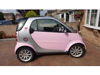 Smart Fortwo Pink Passion 2006 / 06 £1900 OVNO.