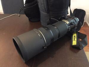 AF-S NIKKOR (Nikon) 200-400mm f/4G ED VR Telephoto Zoom Lens