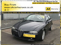 2004 ALFA ROMEO 156 2.4 JTDM 20V M-JET SPORTS * 12 MONTH (AA) WARRANTY INCLUDED