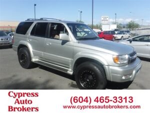 2001 Toyota 4Runner Limited (Leather & Sunroof)