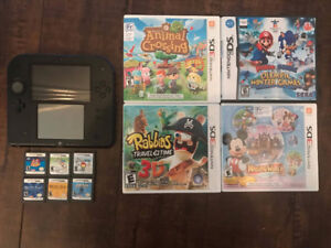 Blue Nintendo 2DS With 10 Games