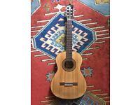Santos Martinez 3/4 Classical Guitar with soft carry case
