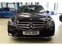 Mercedes E250 CDI AMG SPORT [1 OWNER / NAV / DAB RADIO] (obsidian black metallic) 2014