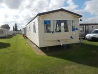 REDUCED,3bedroom, 12ft wide Static Caravan For Sale 2017 Site Fees Included. Sited On Norfolk Coast