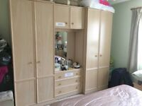Matching Wardrobe Set, Excellent Condition