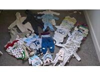BABY BOY BUNDLE clothing 3-6 months various brands waitrose, F&F, sainsburys etc
