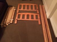 Toddler bed, good condition. Disassembled ready to put together ( easy)