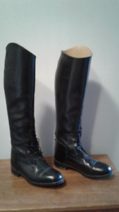 Regent Leather Field Boots