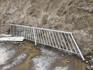 Exterior Aluminum Stair Railing - Great condition
