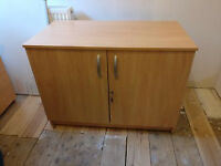 Nice 100cm wide office style cabinet