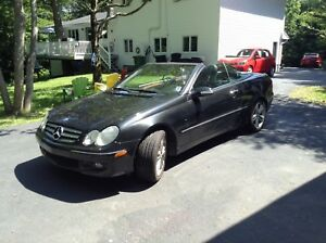 2006 Mercedes CLK 350 Convertible.