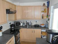 fitted kitchen units and washing machine