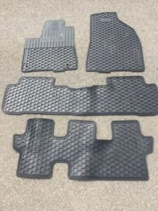 OEM Rubber Floor Mats for 2015 Toyota Highlander