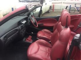 RENAULT MEGANE CONVERTABLE CHEEP FUN IN THE SUN ONLY £995