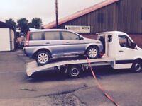 Honda CR-V 4x4 breaking all parts