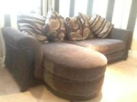 Sofa up for sale good for Sumone starting off